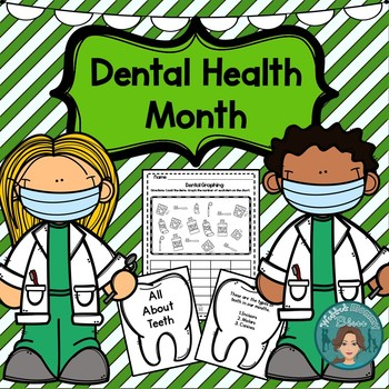 Dental Health and Hygeine for lower elementary Kindergarten, First, and Second
