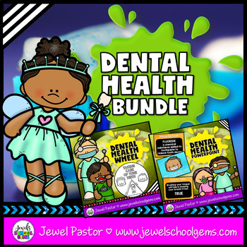 Dental Health Activities BUNDLE (PowerPoint and Craft)