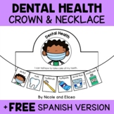 Dental Health Activity Crown and Necklace