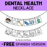 Dental Health Activity Necklace Craft