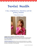 Dental Health 2nd Grade Unit, COMMON CORE, 7 30 minute sessions
