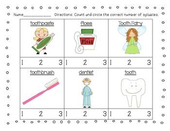 Dental Health {A Math and Literacy Mini Unit}