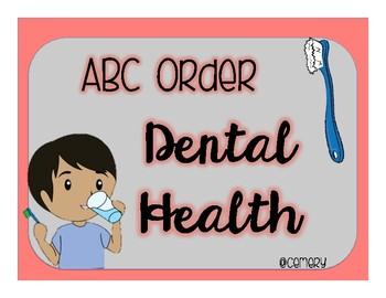 Dental Health ABC Order