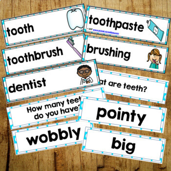 Dental Health Activities Bundle