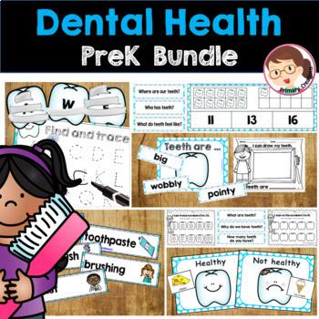 Dental Health Activities | Autism SPED Preschool PreK | Activities Bundle