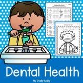 Dental Health Activities (Dental Health Worksheets, February Activities)