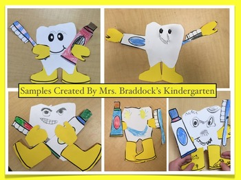Dental Health Activities and Craft by Charlotte's Clips