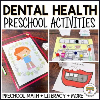 Dental Health Activities for Pre-K, Preschool and Tots