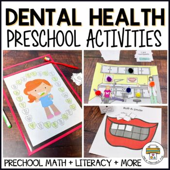 Dental Health Preschool Activities and Centers