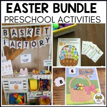 Easter Themed Preschool Activities and Centers