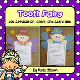 Dental Health Activities with Tooth Fairy Application and Craft