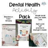 Dental Health Activity Pack