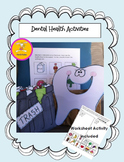 Dental Health Activity and Worksheet