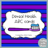 Dental Health Alphabet Cards