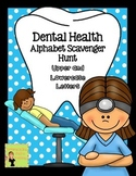 Dental Health: Alphabet Scavenger Hunt: Upper and Lowercas
