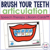 Dental Health Articulation BOOM Cards™  | Speech Therapy
