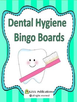 Dental Health Bingo Boards