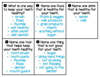 Dental Health Board Game