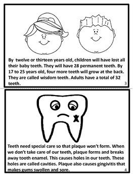 Dental Health Booklet