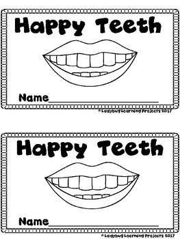 Dental Health Bundle  (3 Sight Word Emergent Readers and 3 Teacher Lap Books)