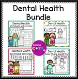 Dental Health Activities and Worksheets Bundle