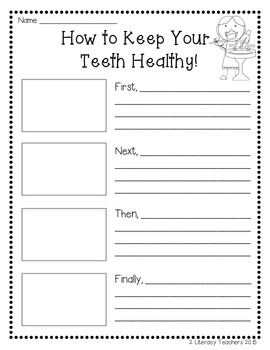 Dental Health: CCSS Aligned Leveled Reading Passages and Activities