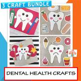 Tooth Crafts and Activities Bundle - Dental Health - Febru