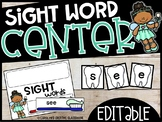 Dental Health Center - Building Sight Words or Names (USE ANY WORD LIST!)