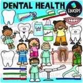 Dental Health Clip Art Bundle {Educlips Clipart}
