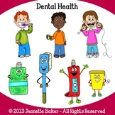 Dental Health Clip Art by Jeanette Baker