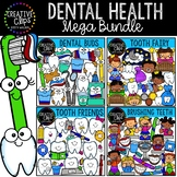 Dental Health Clipart Bundle {Creative Clips Clipart}