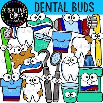 Dental Health Clipart Bundle {Creative Clips Clipart}