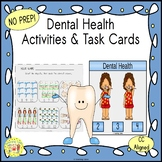 Dental Health Clip Task Cards