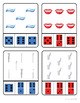 Dental Health Count and Clip Cards