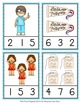Dental Health Count and Clip Cards Numbers 1-12