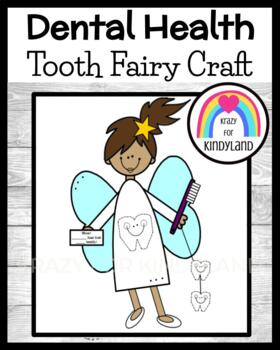 Tooth Fairy and Tooth Counting Craft (Dental Health)