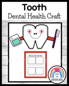 Dental Health Craft: Tooth and Healthy Teeth Worksheet