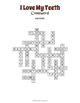 Dental Health Crossword - Dental Vocabulary