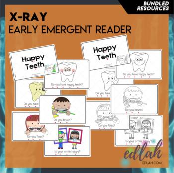 Dental Health Early Emergent Reader - BUNDLE