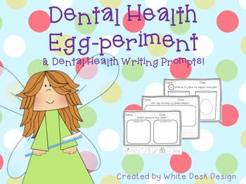 Dental Health Egg Experiment & Response Sheets