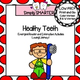 Dental Health Emergent Reader Book AND Interactive Activities
