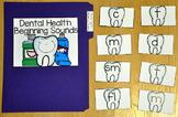 Dental Health File Folder Game:  Dental Health Beginning Sounds