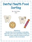 Dental Health Food Sorting