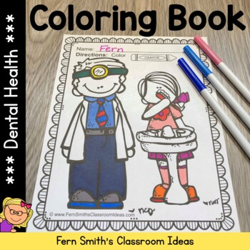 Coloring Pages for Dental Health Fun