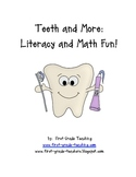 Dental Health Fun For Literacy and Math