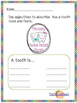 Dental Health Fun Pack!