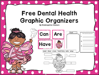 Dental Health Graphic Organizers Free