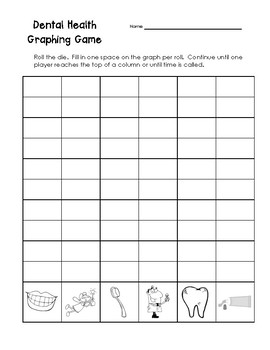 Dental Health Graphing Game