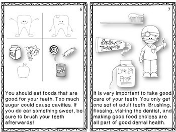 Dental Health Informational Reader K-2
