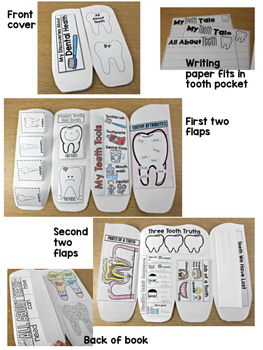 Teeth & Dental Health Science Interactive Activities